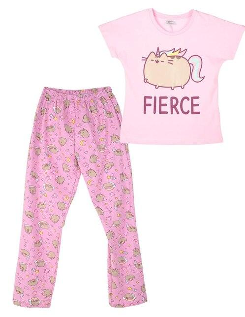 388d4059d Pijama Pusheen algodón para niña